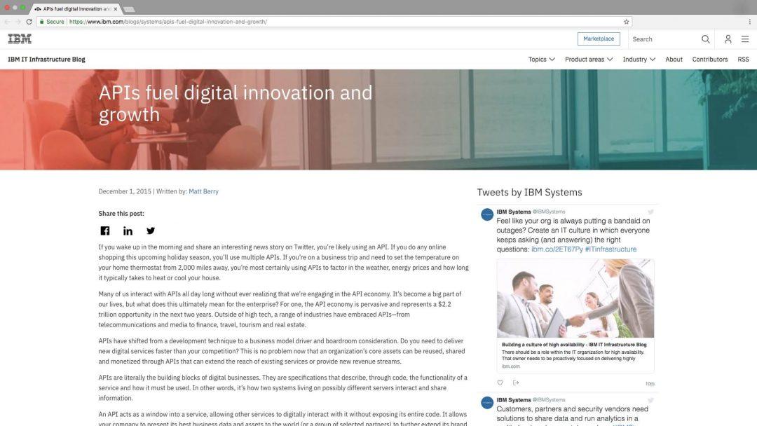 Shara Sokol | APIs fuel digital innovation and growth
