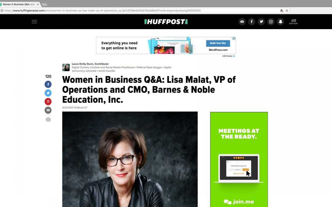 Executive profile: Women in Business