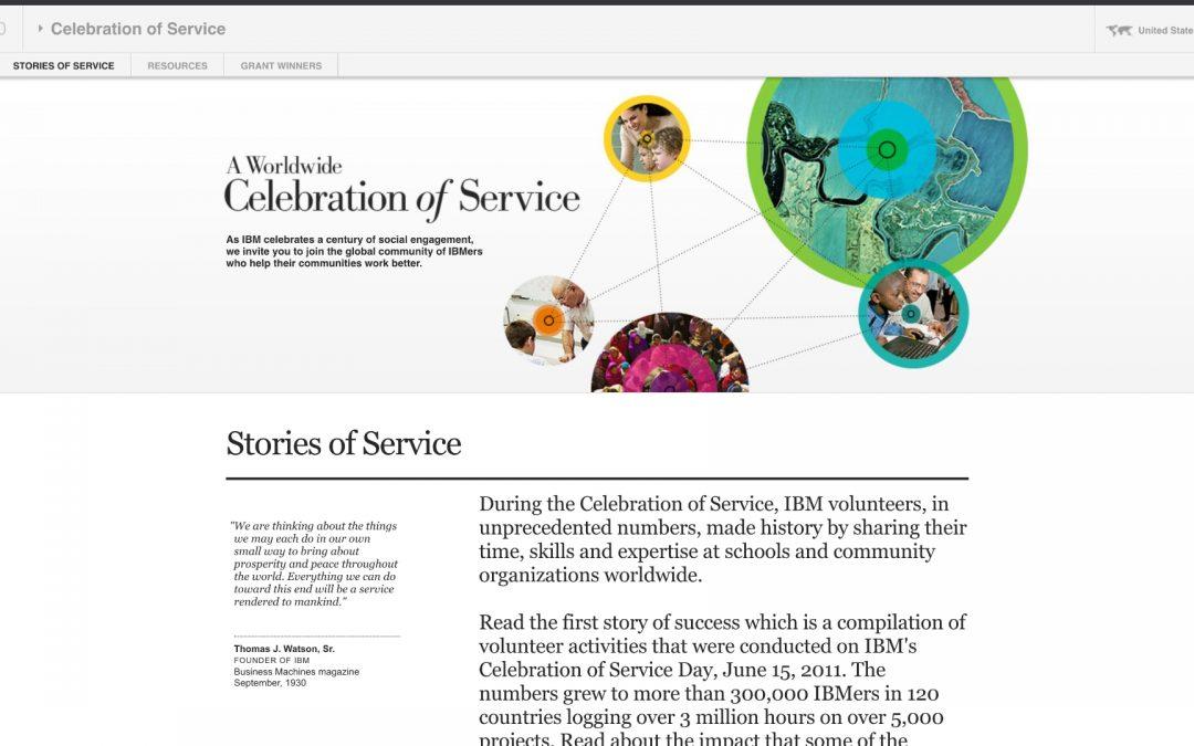 IBM 100: Celebration of Service